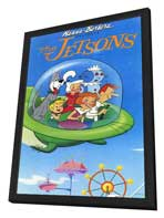 The Jetsons - 11 x 17 Movie Poster - Style A - in Deluxe Wood Frame