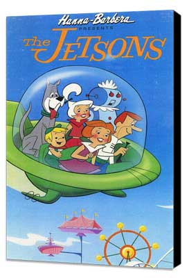 The Jetsons - 11 x 17 Movie Poster - Style A - Museum Wrapped Canvas
