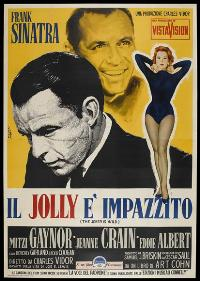 The Joker Is Wild - 43 x 62 Movie Poster - Italian Style A