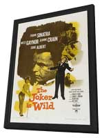 Joker is Wild, The - 11 x 17 Movie Poster - Style B - in Deluxe Wood Frame