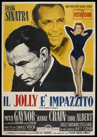 Joker is Wild, The - 11 x 17 Movie Poster - Italian Style A