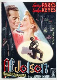 The Jolson Story - 11 x 17 Movie Poster - Italian Style A