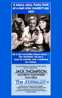 The Journalist - 43 x 62 Movie Poster - Bus Shelter Style A