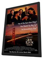 The Joy Luck Club - 27 x 40 Movie Poster - Style B - in Deluxe Wood Frame