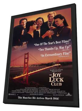 The Joy Luck Club - 11 x 17 Movie Poster - Style B - in Deluxe Wood Frame