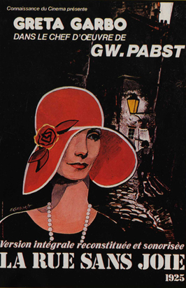 Joyless Street - 11 x 17 Movie Poster - French Style A