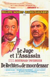 The Judge and the Assassin - 11 x 17 Movie Poster - Belgian Style A