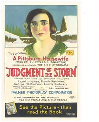 The Judgment of the Storm - 11 x 17 Movie Poster - Style A