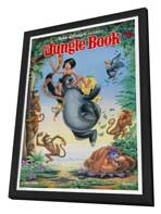 Jungle Book, The - 11 x 17 Movie Poster - Style A - in Deluxe Wood Frame