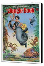 Jungle Book, The - 11 x 17 Movie Poster - Style A - Museum Wrapped Canvas
