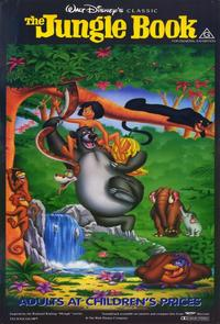 Jungle Book, The - 11 x 17 Movie Poster - Australian Style A