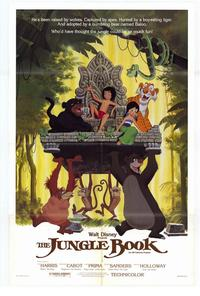 Jungle Book, The - 43 x 62 Movie Poster - Bus Shelter Style A