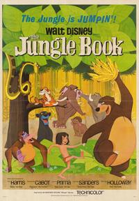 Jungle Book, The - 43 x 62 Movie Poster - Bus Shelter Style B