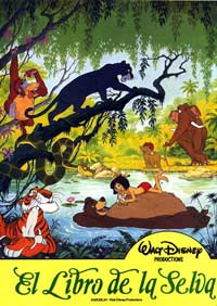 Jungle Book, The - 27 x 40 Movie Poster - Spanish Style D