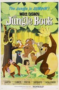 Jungle Book, The - 11 x 17 Movie Poster - Style E