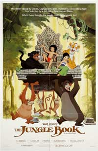 Jungle Book, The - 11 x 17 Movie Poster - Style F