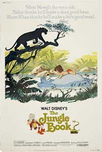 Jungle Book, The - 11 x 17 Movie Poster - Style G