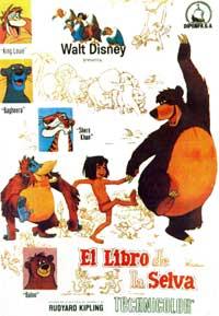 Jungle Book, The - 11 x 17 Movie Poster - Spanish Style E