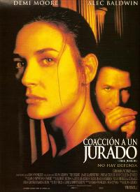 The Juror - 27 x 40 Movie Poster - Spanish Style A