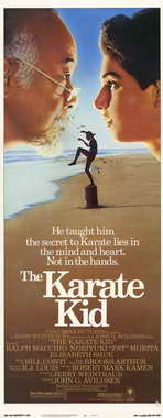 The Karate Kid - 14 x 36 Movie Poster - Insert Style A