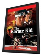 The Karate Kid - 11 x 17 Movie Poster - Style B - in Deluxe Wood Frame