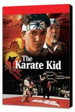 The Karate Kid - 27 x 40 Movie Poster - Style B - Museum Wrapped Canvas