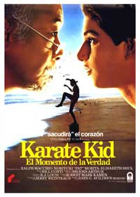 The Karate Kid - 11 x 17 Movie Poster - Spanish Style A