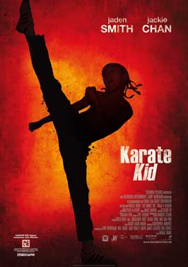 The Karate Kid - 27 x 40 Movie Poster - German Style A