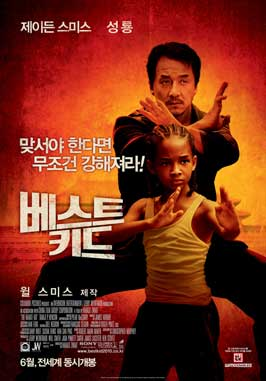 The Karate Kid - 27 x 40 Movie Poster - Korean Style C