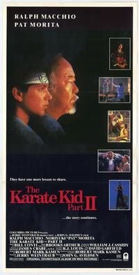 The Karate Kid: Part 2 - 11 x 17 Movie Poster - Australian Style A