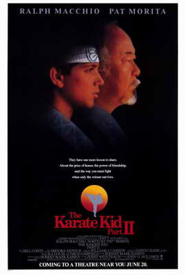 The Karate Kid: Part 2 - 27 x 40 Movie Poster - Style A