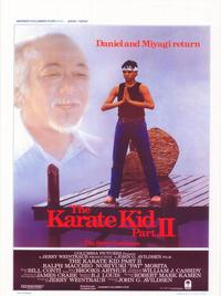 The Karate Kid: Part 2 - 11 x 17 Movie Poster - Belgian Style A