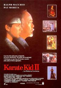 The Karate Kid: Part 2 - 11 x 17 Movie Poster - Spanish Style A