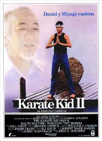 The Karate Kid: Part 2 - 27 x 40 Movie Poster - Spanish Style B