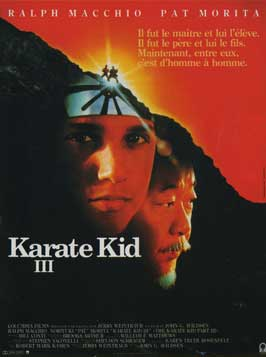 The Karate Kid: Part 3 - 11 x 17 Movie Poster - French Style A