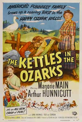 The Kettles in the Ozarks - 11 x 17 Movie Poster - Style B