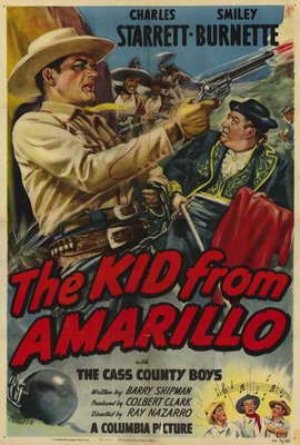 The Kid From Amarillo - 27 x 40 Movie Poster - Style A