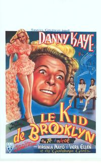 The Kid From Brooklyn - 11 x 17 Movie Poster - Belgian Style A
