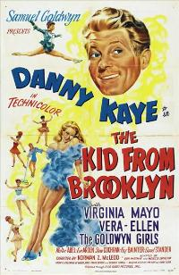 The Kid From Brooklyn - 11 x 17 Movie Poster - Style A