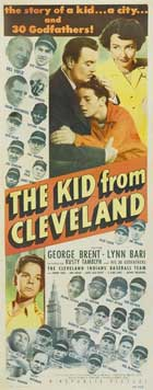 The Kid From Cleveland - 14 x 36 Movie Poster - Insert Style A
