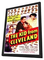 The Kid From Cleveland - 11 x 17 Movie Poster - Style A - in Deluxe Wood Frame