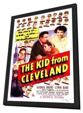 The Kid From Cleveland - 27 x 40 Movie Poster - Style A - in Deluxe Wood Frame