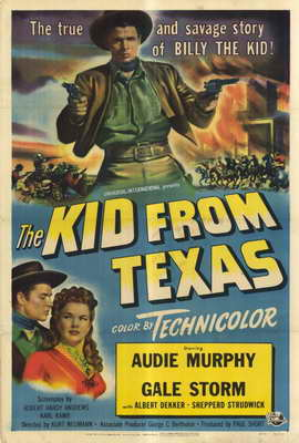 The Kid From Texas - 27 x 40 Movie Poster - Style A