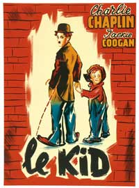 The Kid - 11 x 17 Movie Poster - French Style B