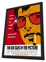 The Kid Stays in the Picture - 11 x 17 Movie Poster - Style A - in Deluxe Wood Frame