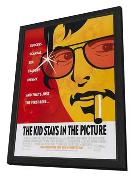 The Kid Stays in the Picture - 27 x 40 Movie Poster - Style A - in Deluxe Wood Frame