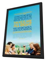 The Kids Are All Right - 27 x 40 Movie Poster - Style A - in Deluxe Wood Frame