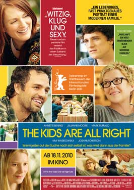 The Kids Are All Right - 27 x 40 Movie Poster - German Style A