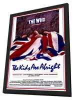 The Kids Are Alright - 11 x 17 Movie Poster - Style A - in Deluxe Wood Frame