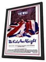 The Kids Are Alright - 27 x 40 Movie Poster - Style A - in Deluxe Wood Frame